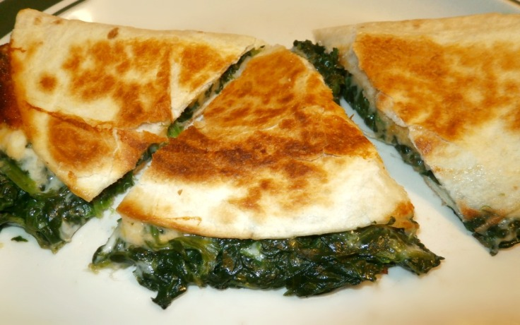 Spinach Quesadillas - Yum Factor 10