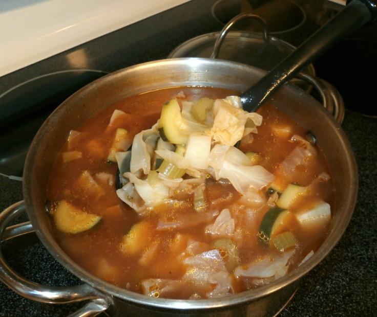 Grandma's Cabbage Soup