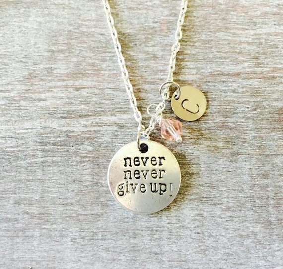 Inspirational charm necklace from SAjolie