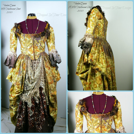 Voodoo Queen Costume by Trapped in Time Designs