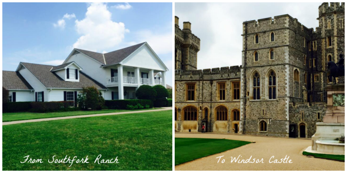 From Southfork to Windsor Castle.  Travels of Lindsey Buckley of SAjolie