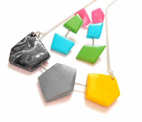 Geometric Jewelry by Sweetiepips