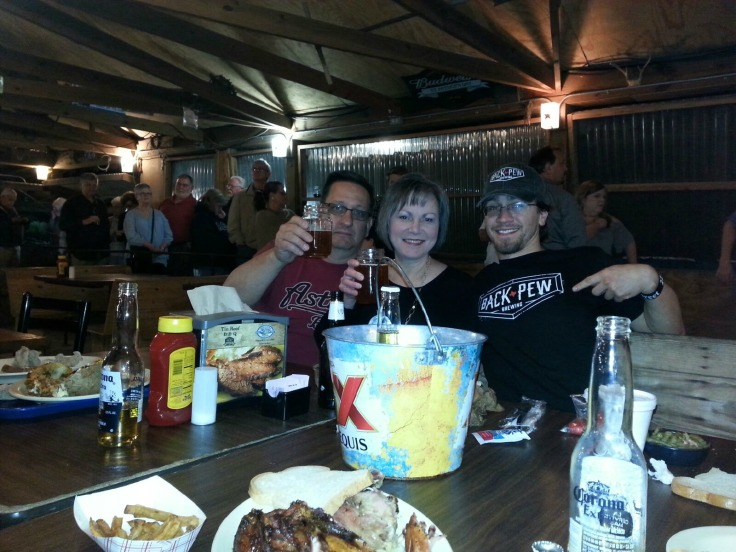 Fun at Tin Roof BBQ, picture courtesy of Yum Factor 10